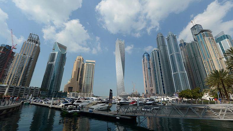 Mapa de Dubai -Dubai Marina
