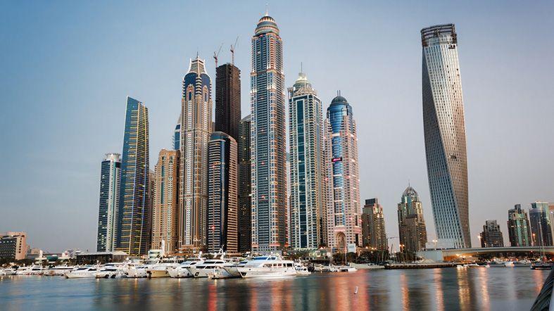Dubai en fotos - Marina