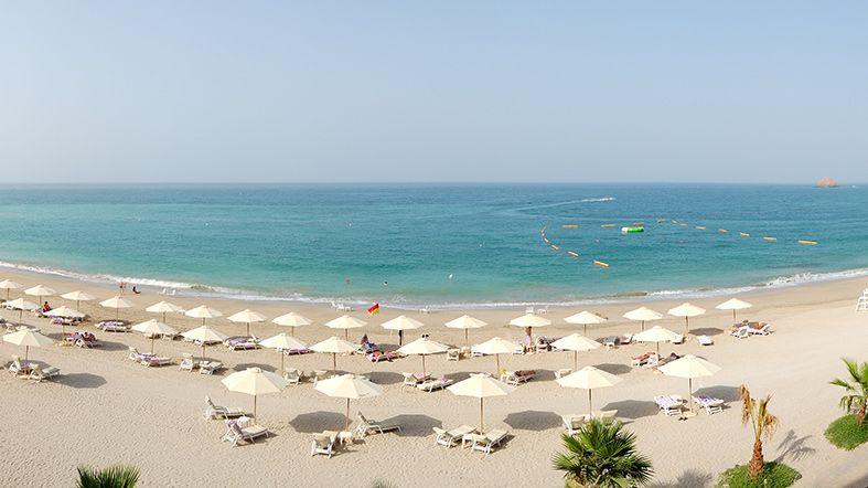 Clima de Dubai - Fujairah Playa