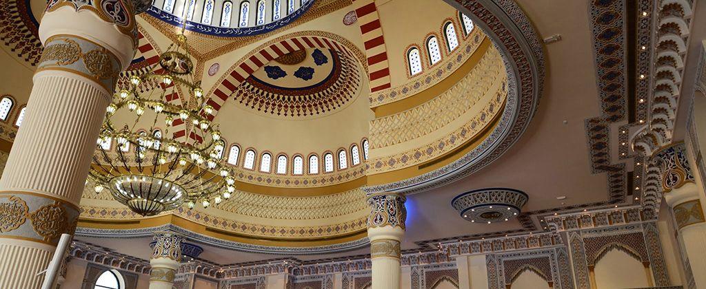 Imprescindibles Emiratos Arabes: Mezquita Al Farooq