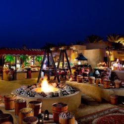 Bab Al Shams - Tradicional cena árabe en Al Hadheerah