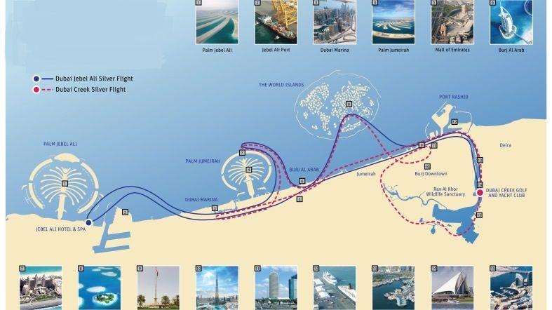 See Dubai Tours - Hidroavión - Dubai Palm - Jebel Ali