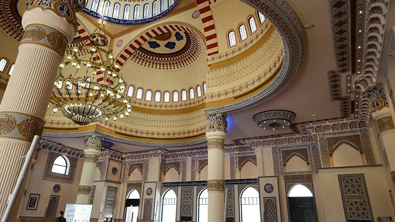 Dubai en fotos - Mezquita Al Farooq