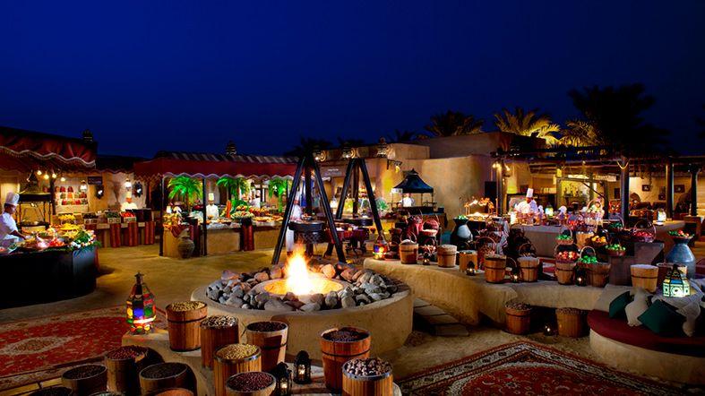 Al Hadheerah - Cena Desierto - Traslado Bab Al Shams - See Dubai Tours