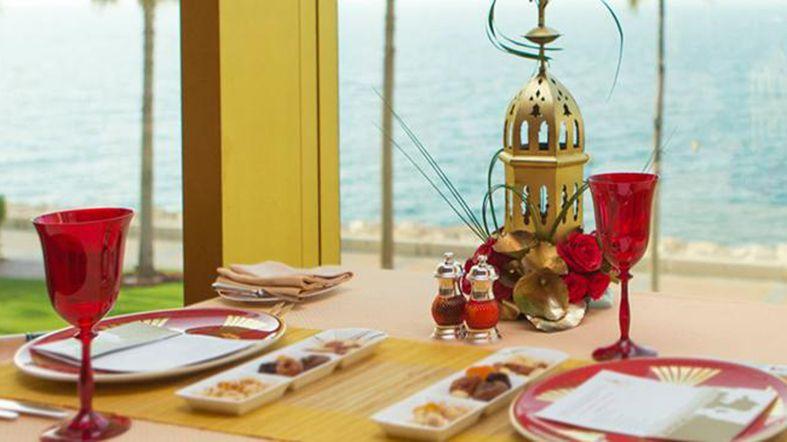 Comida Burj Al Arab restaurante