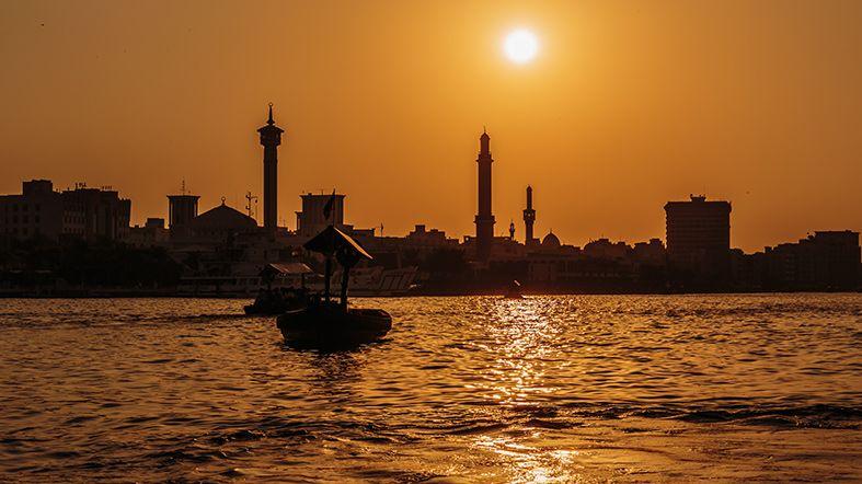 Dubai Tour - Al Farooq Mosque - Al Quoz - Aquaventure - Banco - Burjuman - Creek Park - Dhow Wharfage - Diwan - Ice Rink - Mall - Museum - Emirates Towers - Heritage House - Hindi Lane - Ibn Battuta