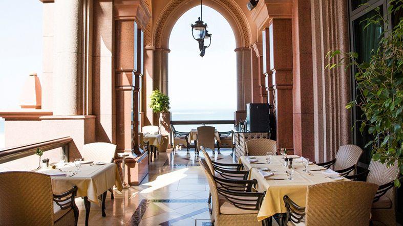 comida emirates palace