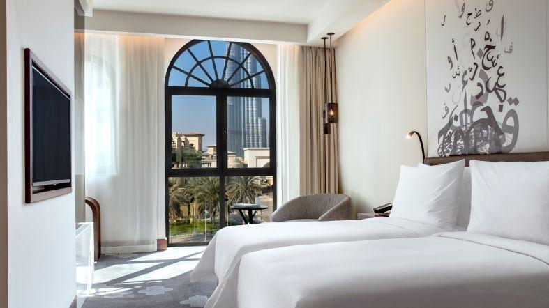 See Dubai tours - Hotel Manzil - Habitacion Doble