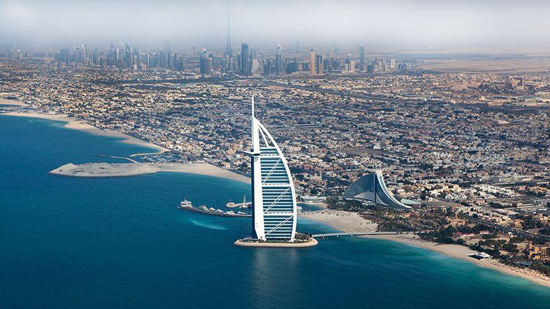 Hidroavión Dubai Palm Jebel Ali