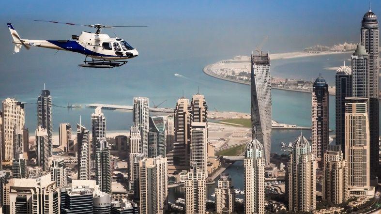 Helicóptero Dubai - See Dubai Tours - Contratar Tour