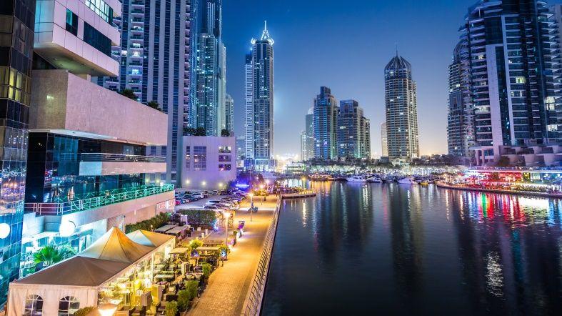 Dubai Nocturno - Visitar - See Dubai Tours - Alquiler de Yate en Dubai Marina