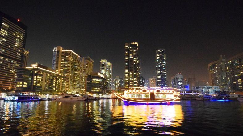 Crucero Dubai Marina - Dhow Arabe - See Dubai Tours