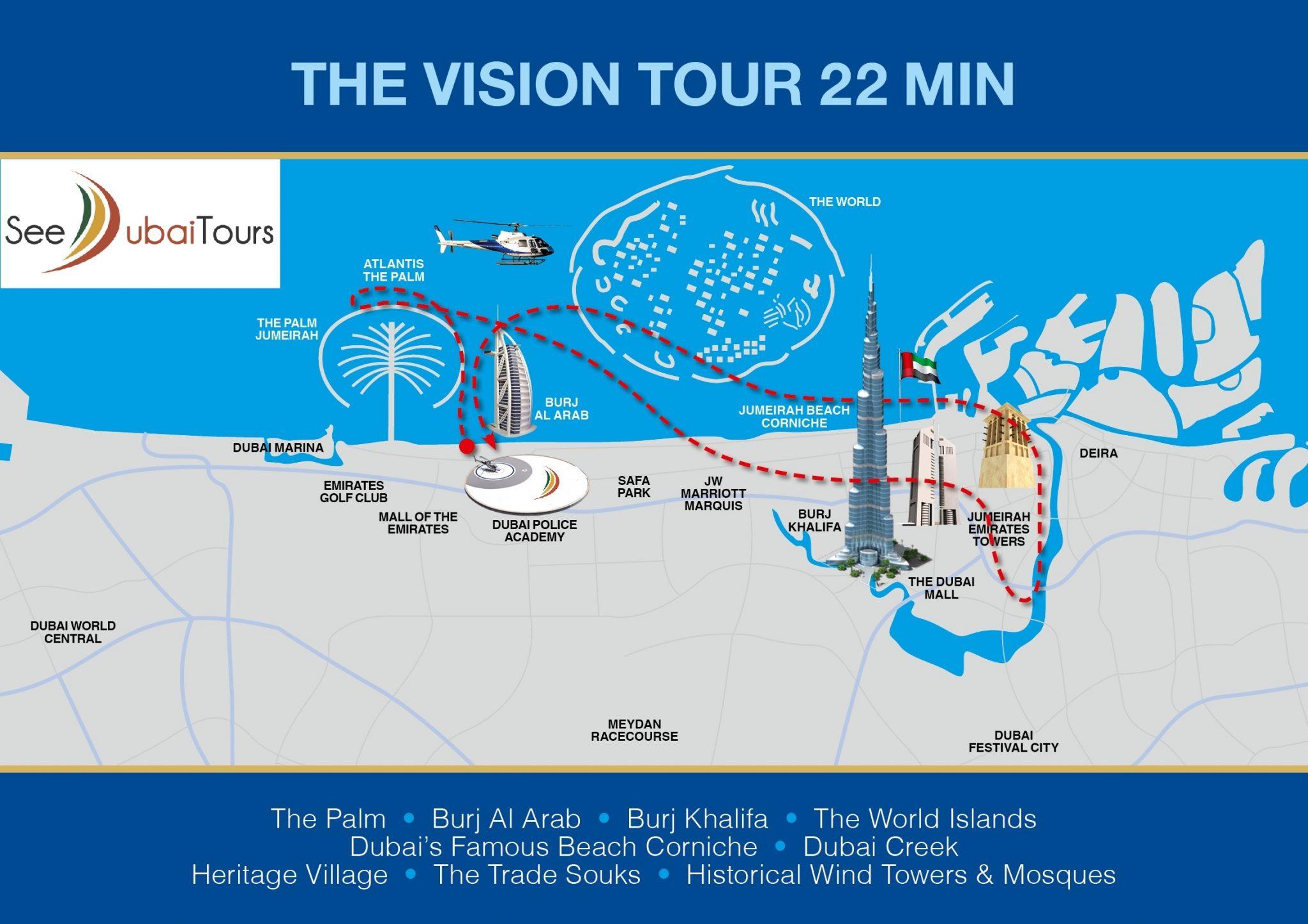 Helicóptero Dubai Vision