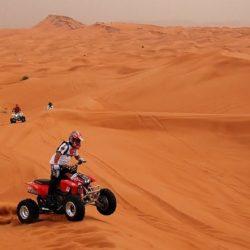 Montar en Quad en el Desierto de Dubai