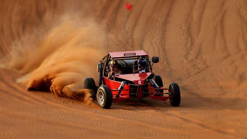 See Dubai Tours- Buggy Desierto