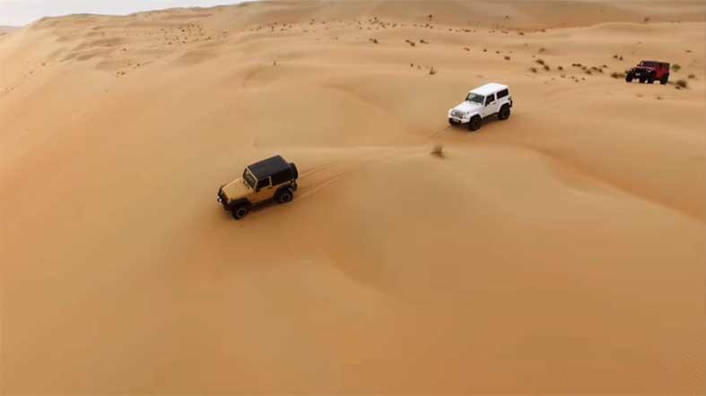 3 x 3 Desierto Liwa - See Dubai Tours