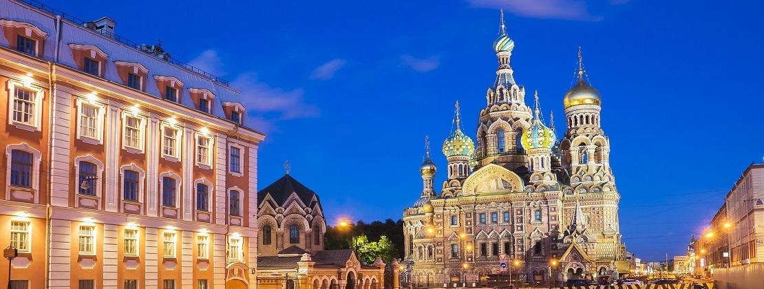 Iglesia del Salvador San Petersbugo