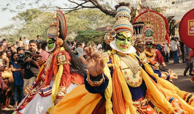 Kathakali Kerala - Circuitos turísticos en India
