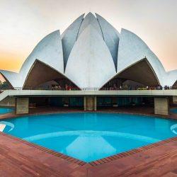 Lotus Temple Delhi Templos