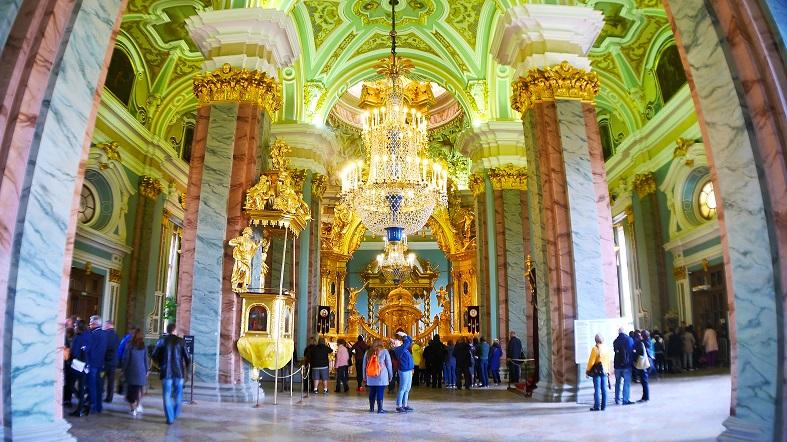 Catedral de San Pedro y San Pablo San Petersburgo