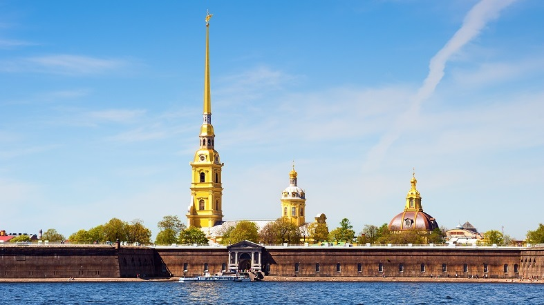 Fortaleza de San Pedro y San Pablo San Petersburgo
