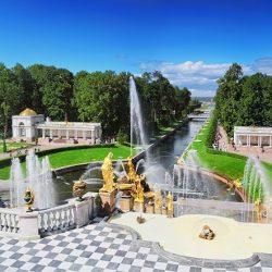 Peterhof San Petersburgo Panoramico