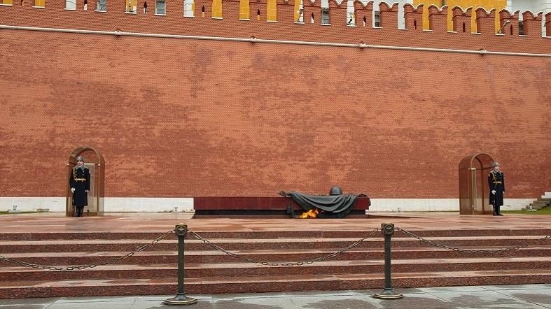 Soldado desconocido tumba Moscu