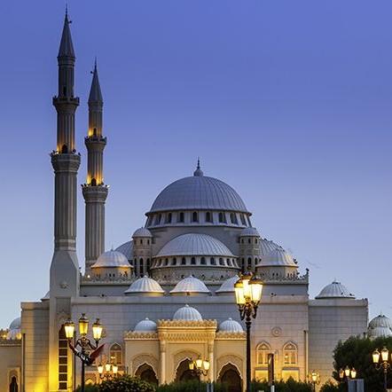 Sharjah Mezquita Al Noor