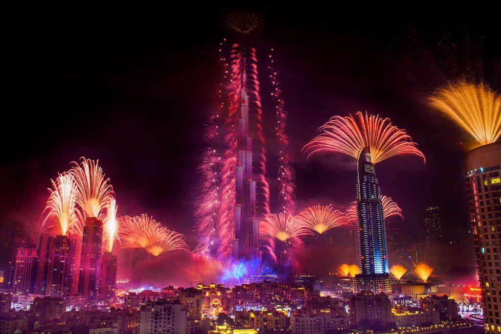 fuegos_artificiales_dubai_Burj_Khalifa