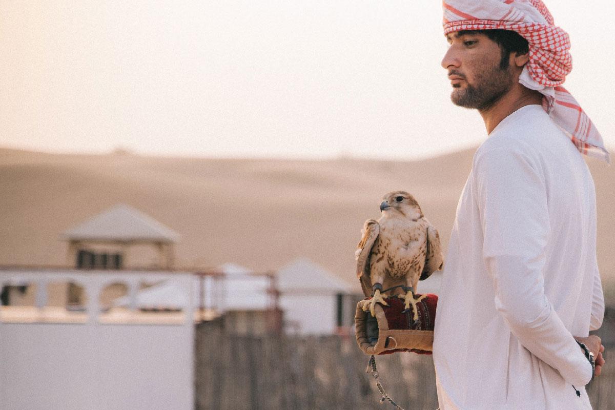 Dubai birdman